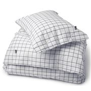Lexington - Pin Point Oxford Shaker Navy Pillowcase 65x65cm