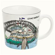 Squidinki - Sydney Harbour Collection Porcelain Mug