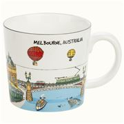 Squidinki - Melbourne Collection Porcelain Mug