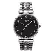 Tissot - Everytime Medium Rhodium Wristwatch w/ Steel Strap