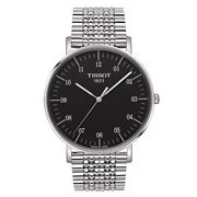 Tissot - Everytime Large Rhodium Wristwatch with Steel Strap