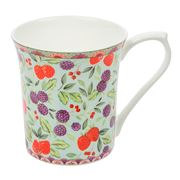 Queens - Classic Summer Chintz Strawberry Royale Mug
