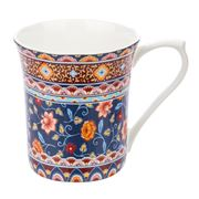 Queens - Indian Silk Persian Mug Lhasa