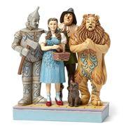 Jim Shore - Wonderful Adventure Wizard Of Oz Fugurine