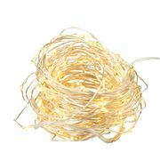 Amalfi - Lustre LED Silver String Lights 10m