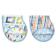 Aden and Anais - Disney Baby The Jungle Book Burpy Bib Set