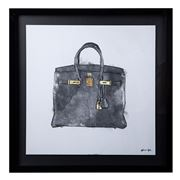 Oliver Gal - My Lucky Bag - Black 54x54cm