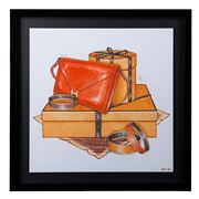 Oliver Gal - My Bag Collection IV 54x54cm