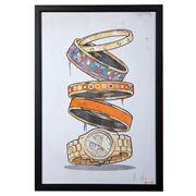 Oliver Gal - Orange Arm Candy 44.5x 64.5cm