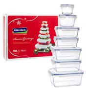 Glasslock - Tempered Glass Food Container Set 14pce