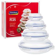 Glasslock - Tempered Glass Food Container Set 8pce