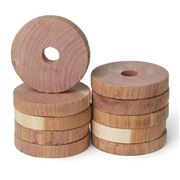 Redecker - Red Cedar Discs Pack 10pce