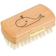Redecker - Child's Nail Brush Whale