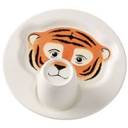 V&B - Animal Friends Tiger Plate with Mug Set