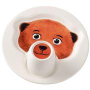 V&B - Animal Friends Bear Plate with Mug