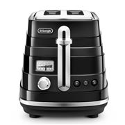 DeLonghi - Avvolta Black Two-Slice Toaster