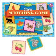 eeBoo - Matching Game Woodland Life
