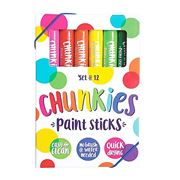 International Arrivals - Chunky Paint Stick Set 12pce