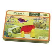 Mudpuppy - Magnetic Design Set  Dinosaurs