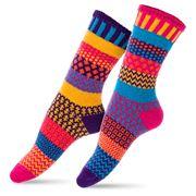 Solmate Socks - Adult Small Carnation Socks