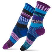 Solmate Socks - Adult Small Raspberry Socks
