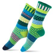 Solmate Socks - Adult Small Water Lily Socks Small