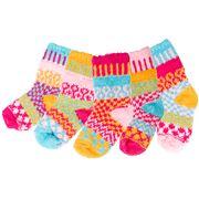Solmate Socks - Cuddle Bug Baby Socks 5pce
