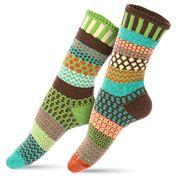 Solmate Socks - Adult Medium September Sun Socks