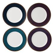 Wedgwood - Byzance Plate Set 20cm/4pce
