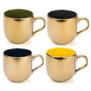 Yedi - Desert Gold Mug Set 4pce