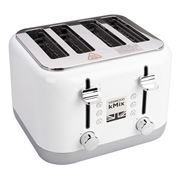 Kenwood - kMix Cool White Four Slice Toaster