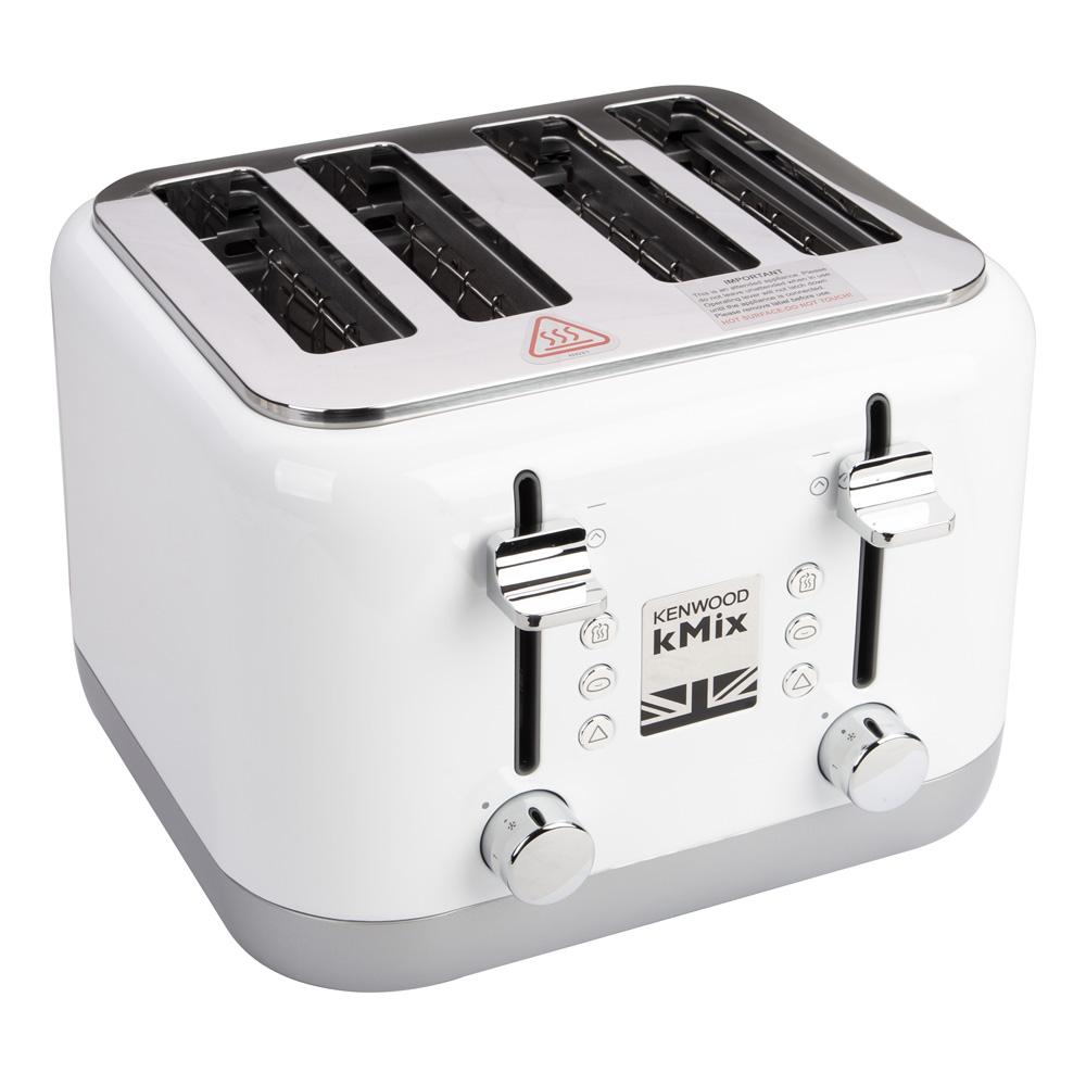 kenwood kmix cool white four slice toaster peter 39 s of. Black Bedroom Furniture Sets. Home Design Ideas