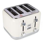 Kenwood - kMix Four Slice Toaster TFX750 Fresh Cream