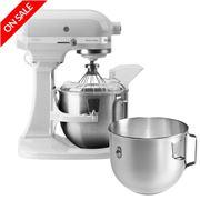 KitchenAid - KPM50 White Stand Mixer