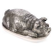 Go Home - Pigsley Butter Dish