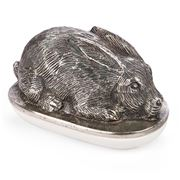 Go Home - Rabbit Butter Dish