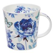 Dunoon - Lomond Blue Haze Open Butterfly Mug