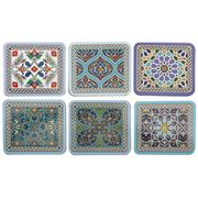 Cinnamon - Dubai Coaster Set 6pce