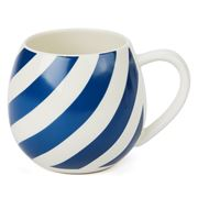 Robert Gordon - Mini Hug Me Blue & White Stripe Mug