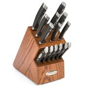 Scanpan - Classic Dark Oak Knife Block Set 15pce