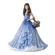 Royal Doulton - Language of Flowers Forget Me Not Figurine