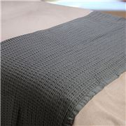 Bemboka - Pure Cotton King/Queen Waffle Blanket Charcoal