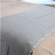 Bemboka - Pure Soft Cotton Waffle Blanket King/Queen Dove