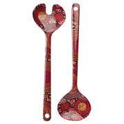 Alperstein - Teddy Gibson Salad Servers Set 2pce