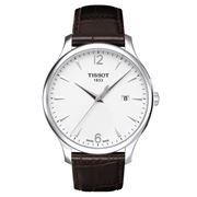 Tissot - Tradition Wristwatch w/Brown Leather Strap