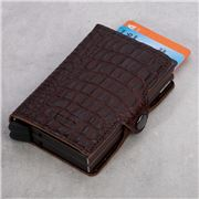 Secrid - Nile Leather Brown Twin Wallet