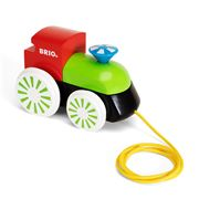 Brio - Engine Pull-Along Multicoloured