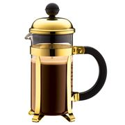 Bodum - Chambord Gold French Press Coffee Maker 3 Cup