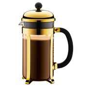Bodum - Chambord French Press Coffee Maker Gold 8 Cup