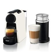 DeLonghi - Nespresso Essenza Mini Coffee Mach. w/Frother Wht